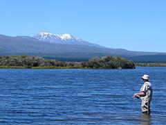 Fishing on Lake Taupo
