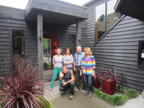 Guests of Wharewaka Lodge