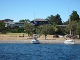 View of Lodge & Lake Taupo